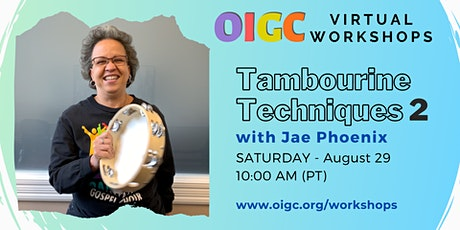 8/29: Tambo Techniques 2 with Jae Phoenix tickets