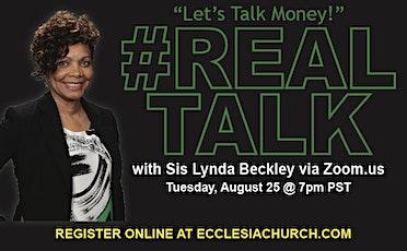 Real Talk Q & A with 1st Lady Lynda Beckley tickets