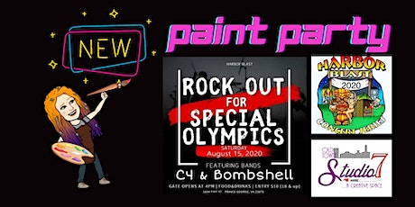 Paint Along Party @Harbor Blast tickets