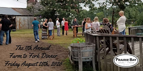 11th  Annual Farm to Fork Dinner tickets