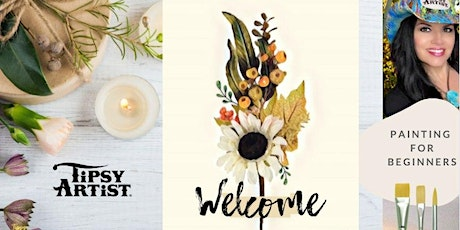 Painting Tutorial ~ Welcome Fall Flowers tickets