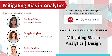 Mitigating Bias in Analytics | Design tickets