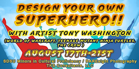 Copy of Design Your Own Superhero tickets