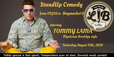 Tommy Lama headlines Lion and Bull tickets