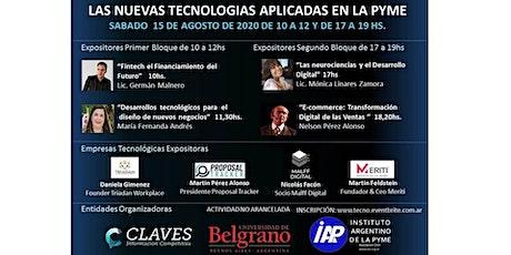 Jornada Nuevas Tecnologias para las Pymes entradas