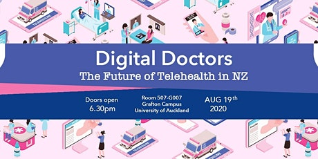 DIGITAL DOCTORS: The Future of TeleHealth in NZ tickets