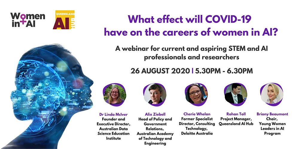 Organizer of What Effect Will COVID-19 Have On The Careers of Women in AI?