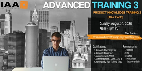 IAA Advanced Training 3 - Product Knowledge Training 2 (Day 2 of 2) tickets