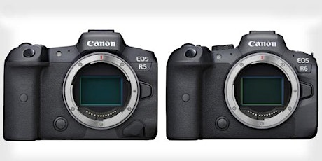A closer look at the new Canon R5 and R6. tickets