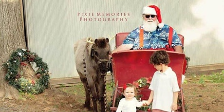Summer Santa Social distancing mini sessions with Pixie Memories tickets