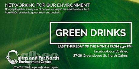 August Green Drinks tickets