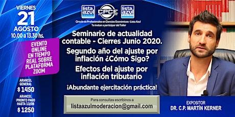 Cierres EECC Junio 2020 . Segundo Año Del Ajuste x Inflación ¿Cómo Sigo? entradas