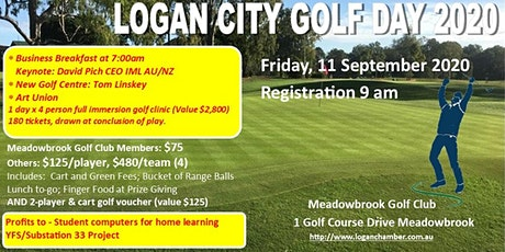 Logan City Golf Day 2020 tickets