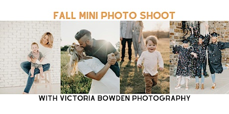 Fall Mini Photo Shoot with Victoria Bowden Photography tickets