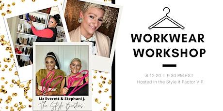 Workwear Workshop tickets