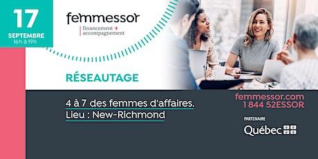 4 à 7 des femmes d'affaires | Région de la Gaspésie – Îles-de-la-Madeleine billets