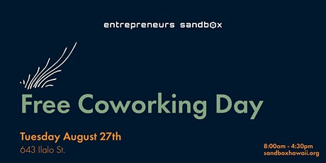 August Free Coworking Day tickets