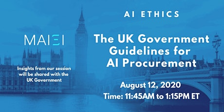 AI Ethics: UK Government Guidelines for AI Procurement tickets