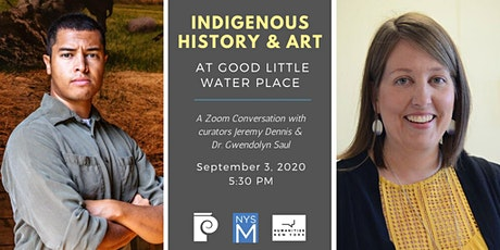 Curator Conversations: Indigenous History & Art at Good Little Water Place tickets