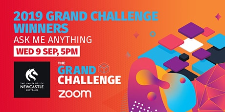 Grand Challenge: Ask Me Anything with 2019 Grand Challenge Winners tickets