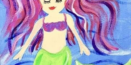 Magical Mermaid Painting Party Session 1 tickets