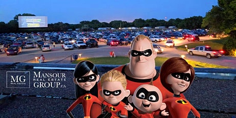 Drive-In Incredibles 2 Movie  - Mansour Real Estate Group tickets