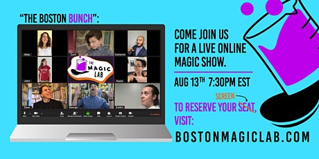 The Magic Lab: A *Virtual* Open Mic Magic Show tickets