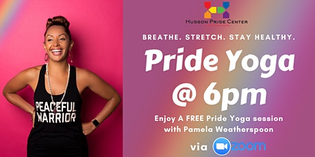 PRIDE Yoga with Pamela! tickets
