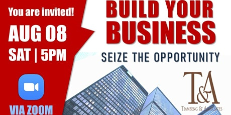 BUILD YOUR BUSINESS - PRU LIFE UK tickets