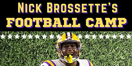 Nick Brossette Football Camp tickets
