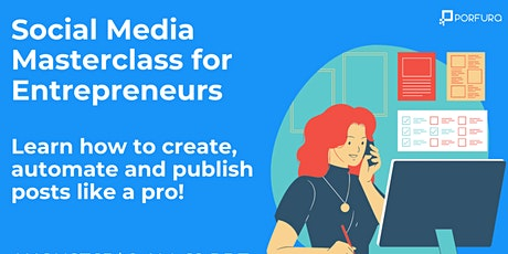 Social Media Masterclass for Entrepreneurs tickets