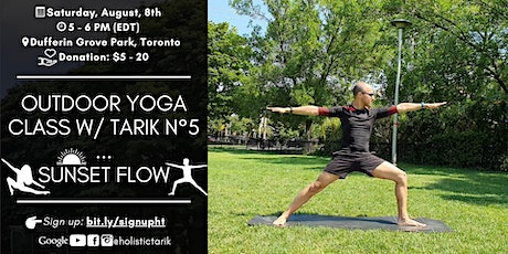 Outdoor Yoga Class in Toronto Park n°5: Sunset Flow tickets
