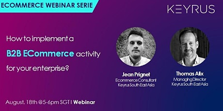 [Webinar] How to implement a B2B Ecommerce activity for your business tickets