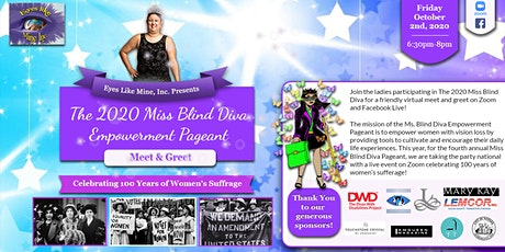 Miss Blind Diva Empowerment Pageant Meet & Greet tickets