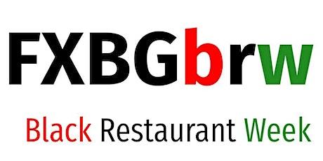 FXBG Regional Black Restaurant Week tickets