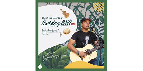 Busking Performance by BuddeyBNB at The LINC KL tickets