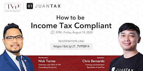 How to be Income Tax Compliant tickets