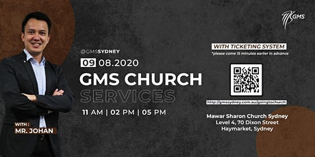 Sunday Live Service 2 @ 2pm - 9 August 2020 tickets