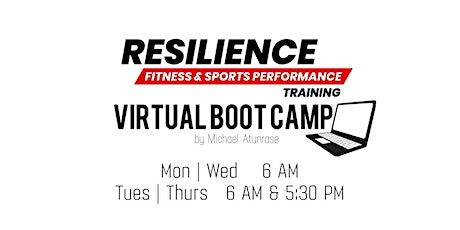 Resilience Fitness Virtual Boot Camp tickets