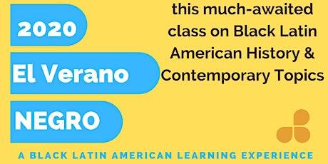 Verano Negro: Course on Black Latin American History & Contemporary Life tickets