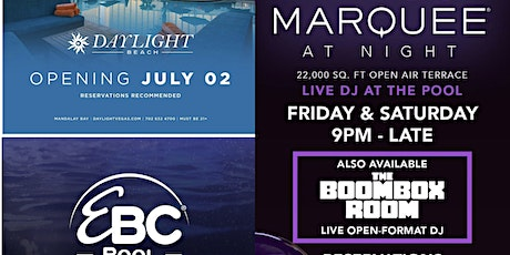 POOL PARTY Encore Beach * DAYLIGHT * MARQUEE POOL GUEST-LIST tickets
