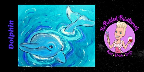 Painting Class - HELLO DOLPHIN - September 13, 2020 tickets