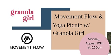 Movement Flow and Yoga  Picnic tickets