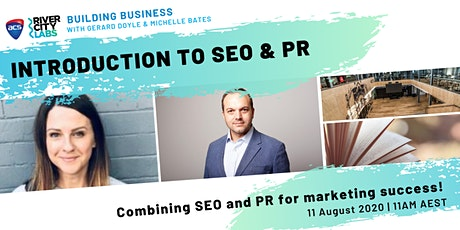 Building Business: Introduction to SEO & PR tickets