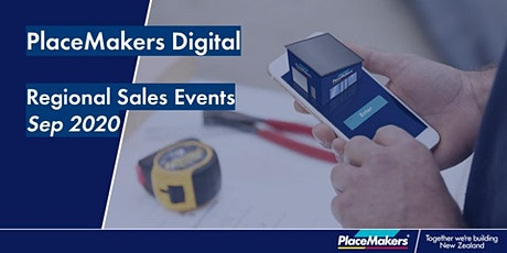 PlaceMakers Digital Regional Sales Event - Palmerston North tickets