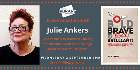 Author Talk with Julie Ankers tickets
