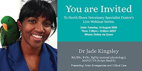 North Shore Veterinary Specialist Centre Webinar Series tickets
