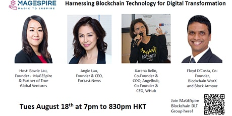 MaGESpire Presents: Harnessing Blockchain Tech for Digital Transformation tickets