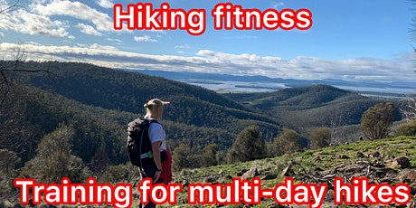 Hiking fitness - preparing for multi-day adventures tickets