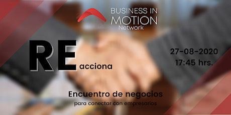 REacciona (Ciber Encuentro De Negocios) tickets